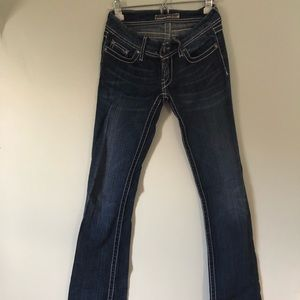 BKE Low Rise Bootcut Jeans
